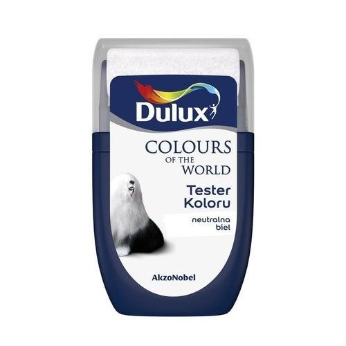 Farba Dulux Kolory Świata neutralna biel 0,03l