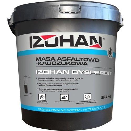 Dyspersyjna masa asfaltowo-kauczukowa Izohan Dysperbit 20 kg