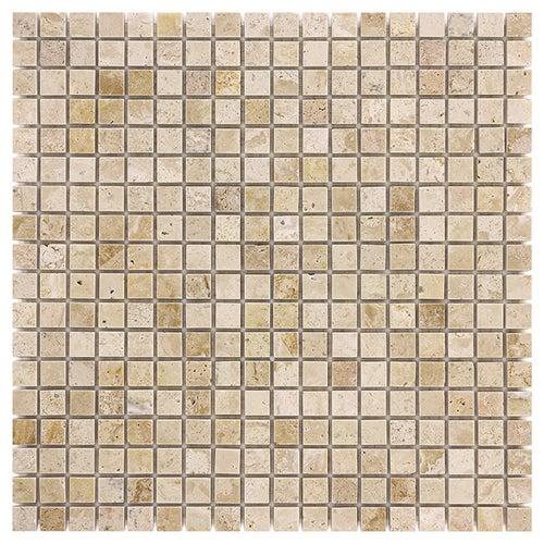 Mozaika kamienna Travertine Cream 15