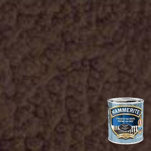 Farba antykorozyja Hammerite brązowy młotkowy 0,25l