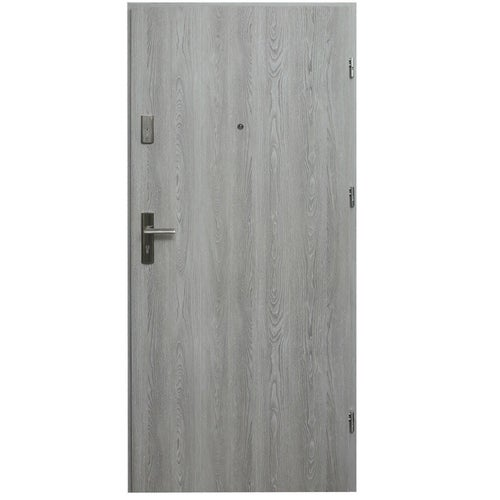 Drzwi wejściowe wewnątrzlokalowe Dioryt 80 cm prawe dąb nordycki