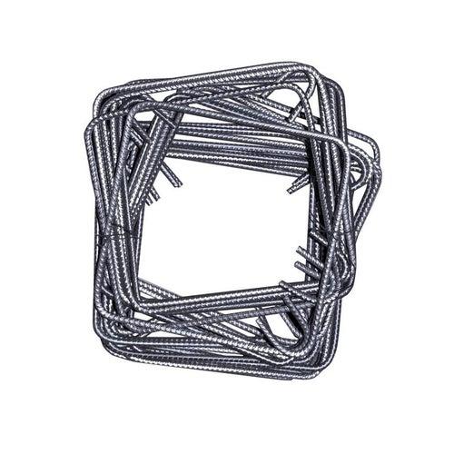 Strzemiona stalowe 25x25 cm, fi 6 mm, 20 szt.