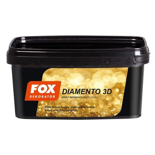 Farba Fox Diamento 3D gold 1l