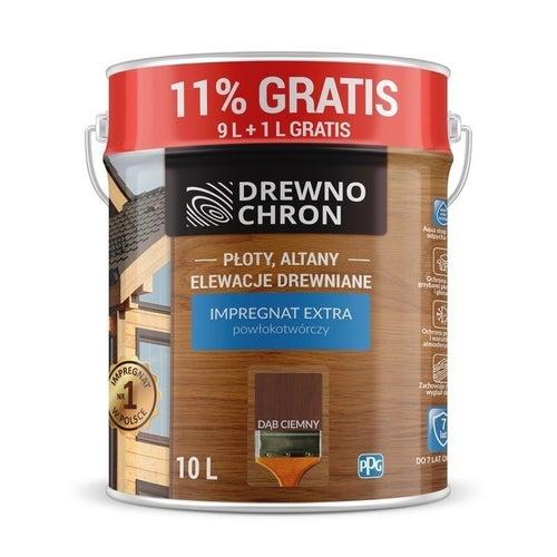 Impregnat Drewnochron Extra dąb ciemny 9+11%l