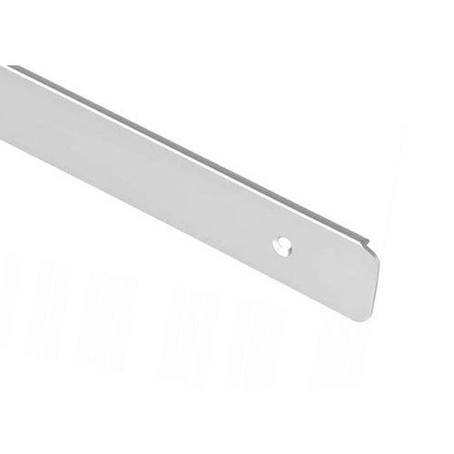 Listwa zakończeniowa aluminiowa R6U prawa 38 mm