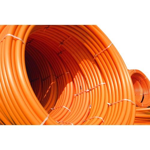 Rura PE do gazu 32x3 mm pomarańczowa
