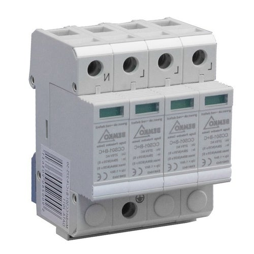 Ogranicznik przepięć 4P typ T1+T2 (klasa B+C) A50-CCS01-4P Bemko