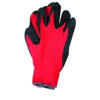 Rękawice z poliestru powlekane lateksem RTELAC, rozm. 10 (XL)
