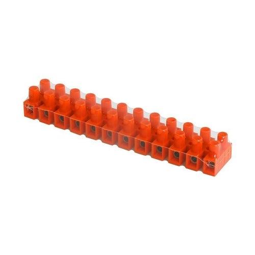 Listwa zaciskowa 12-torowa 4mm2 pomarańczowa