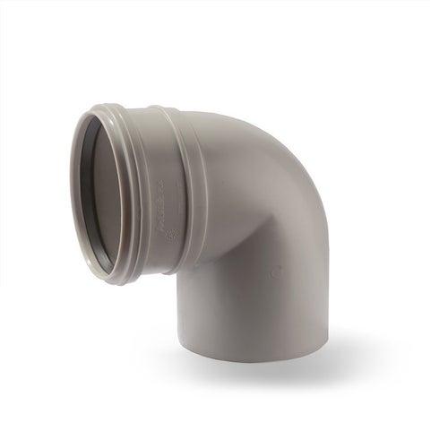 Kolano kanalizacyjne 90° 75 mm