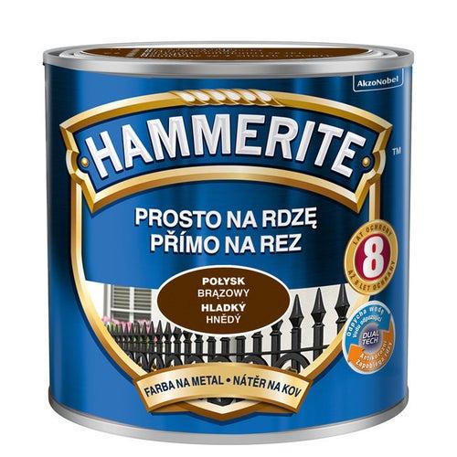 Farba Hammerite połysk brązowy 0,25l