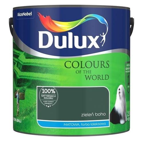 Farba Dulux Kolory Świata zieleń boho 2,5l
