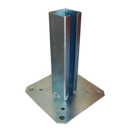 Podstawa słupa przykręcana 150x150x190 mm