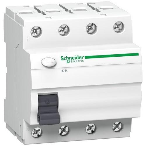 Wyłącznik różnicowoprądowy K60N 4P 63A 30mA typ AC A9Z05463 Schneider