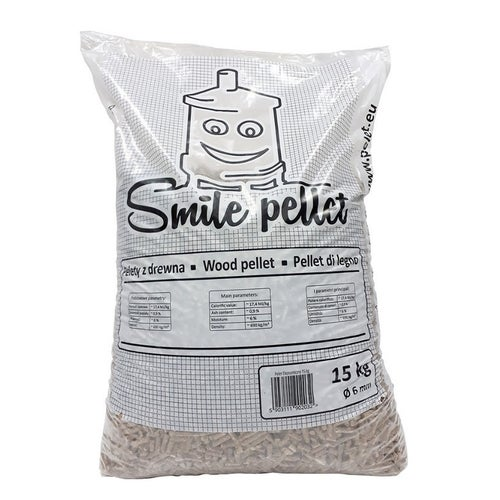 Pellet drzewny Smile Pellet 15kg