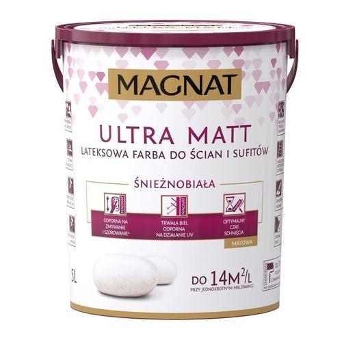 Farba Magnat Ultra Matt biała 5l
