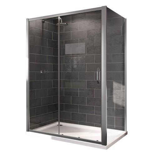 Ścianka prysznicowa Huppe X1 Flex 90x190 cm 140505.069.32