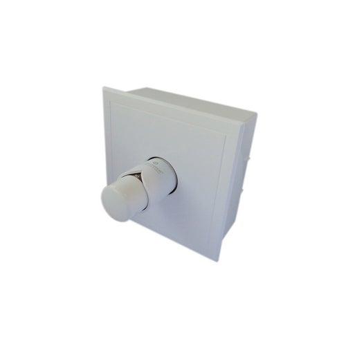 Kasetowy ogranicznik temperatury RTL G3/4 cala biały