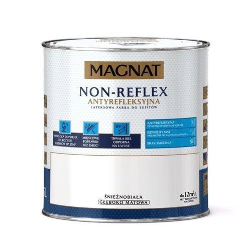 Farba Magnat Non Reflex śnieżnobiała 2,5l