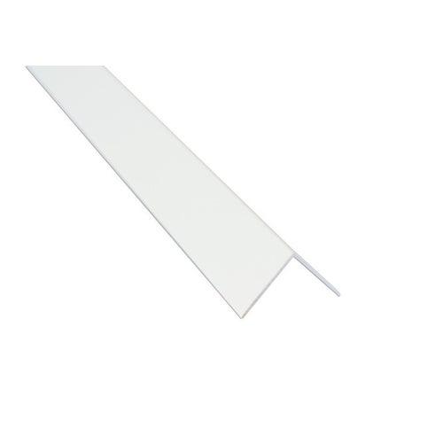 Kątownik PVC 30 x 30 x 2750 mm Biały