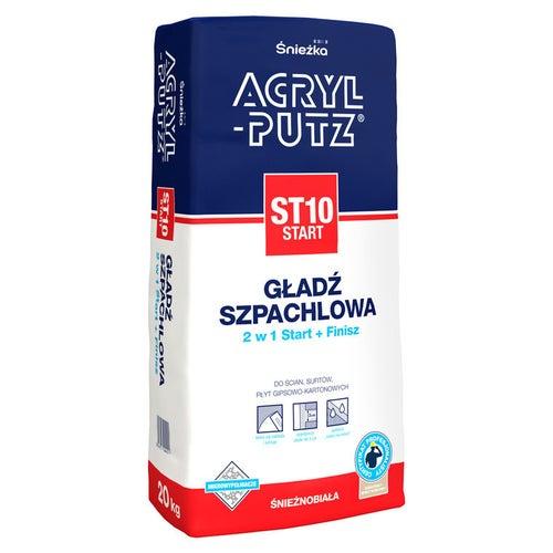 Gładź szpachlowa Śnieżka Acryl-Putz Start ST10 20kg
