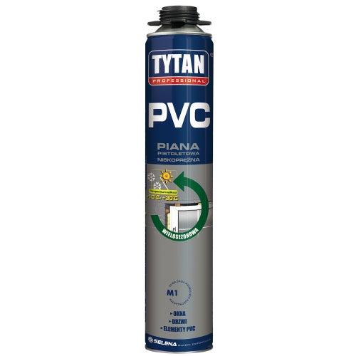 Piana poliuretanowa montażowa Tytan PCV 750 ml, pistoletowa