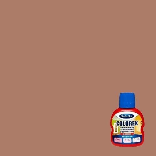 Pigment do kolorowania Śnieżka Colorex brązowy 125 ml