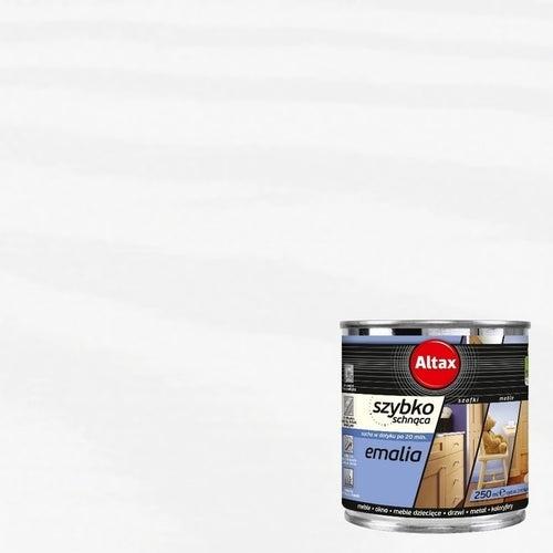 Emalia Altax Szybkoschnąca biały 0,25l