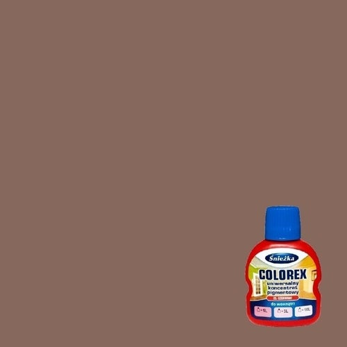Pigment do kolorowania Śnieżka Colorex brąz ciemny 126 ml