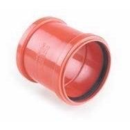Łącznik kanalizacyjny zewnętrzny, PVC fi 200 mm