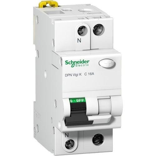 Wyłącznik różnicowoprądowy DPN Vigi K 1P+N B16A 30mA AC A9D22616 Schneider