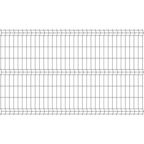 Panel ogrodzeniowy 3D antracyt, 152x250 cm, oczko 75x200 mm, drut 3.2 mm