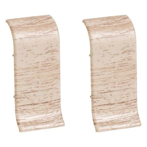 Łącznik do listew przypodłogowych 403 32x56x25mm Dąb Kremowy op. 2szt