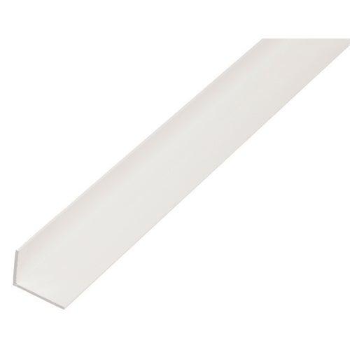 Kątownik PVC 2000x20x10x1.5 mm
