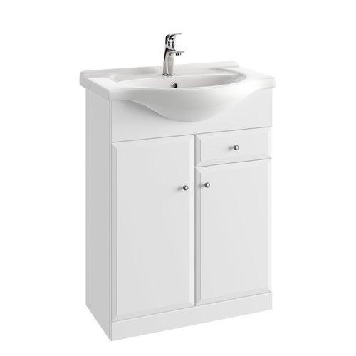 Zestaw szafka z umywalką Onas Armando 65 cm 001-D-06503+1