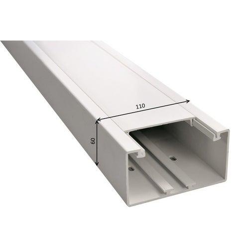 Kanał podparapetowy KPP 60x110mm UV biały 2m