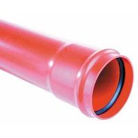 Rura kanalizacyjna zewnętrzna, PVC  SN 4, fi 110 mm, dł. 2,0 m