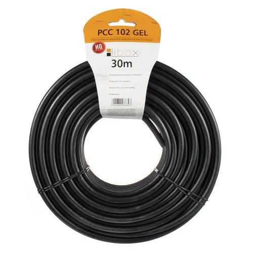 Przewód koncentryczny zewnętrzny 75Ω 1,02/4,7 czarny, 30m