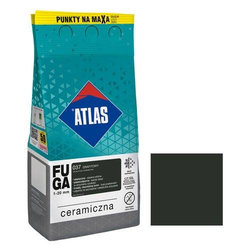 Fuga ceramiczna Atlas 037 grafitowy 5kg