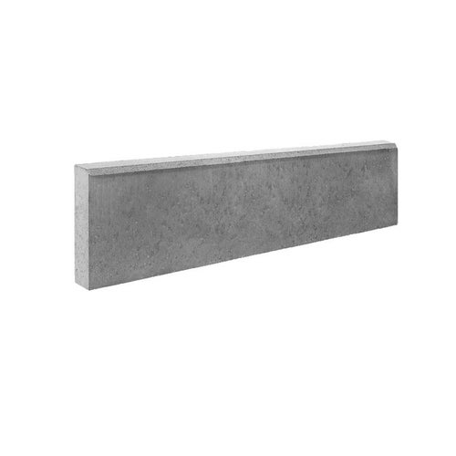 Obrzeże chodnikowe Bruk-Bet szare 100x25x8 cm
