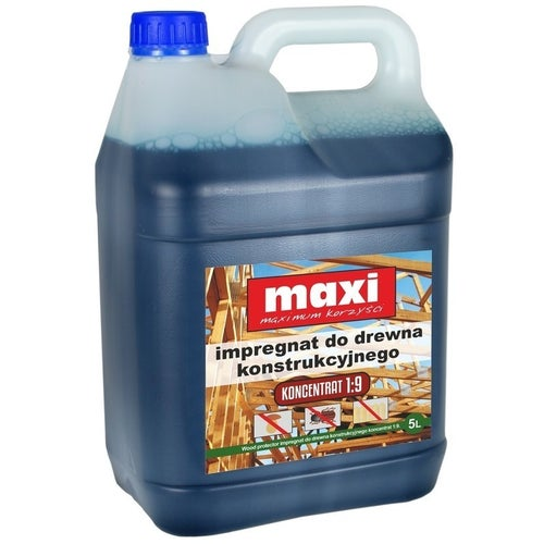 Impregnat konstrukcyjny Maxi brązowy 5l