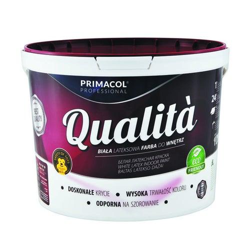 Farba Primacol Qualita biała 10l