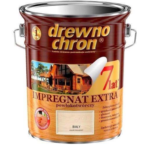 Impregnat Drewnochron Extra biały 4,5l