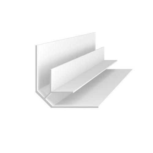Listwa do panelu ściennego B5 kątowa wewnętrzna biały 270 cm