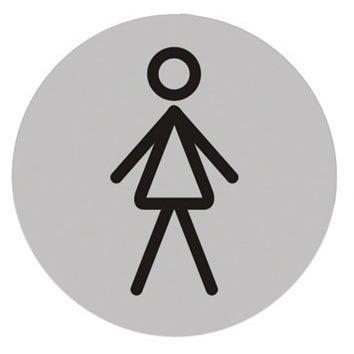 Znak informacyjny WC PANI 75 mm