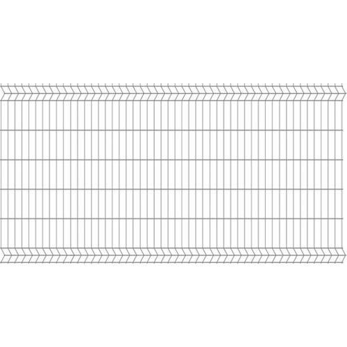 Panel ogrodzeniowy 3D ocynk, 123x250 cm, oczko 75x200 mm, drut 3.2 mm
