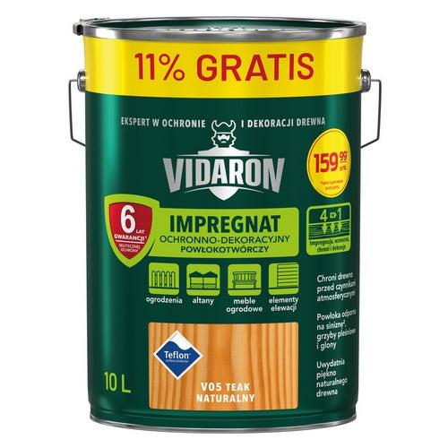 Impregnat Vidaron teak naturalny 10 l