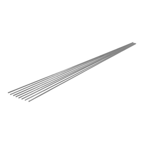 Pręty TIG do stali nierdzewnej 2 mm 0,5 m, 8 szt.