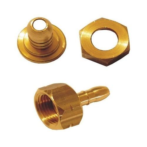 Złącze dwuczęściowe mosiężne GW 21,8 mm 9-10 mm