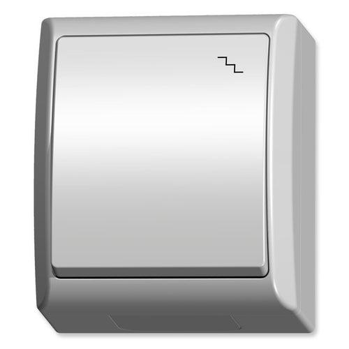 Ospel Fala biały łącznik schodowy IP44